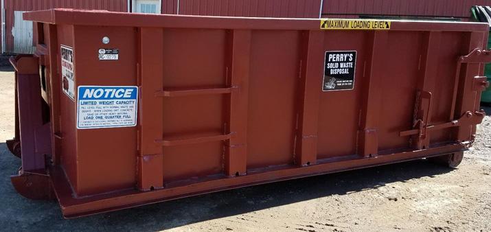 20 cubic yard roll off dumpster