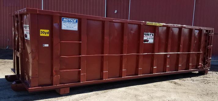 30 cubic yard roll off dumpster