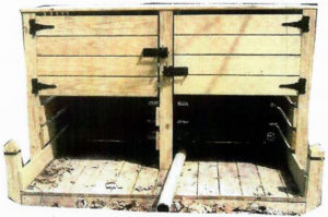 Wooden Residential Bear Proof Enclosure