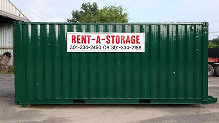 Residential Storage Unit Exterior
