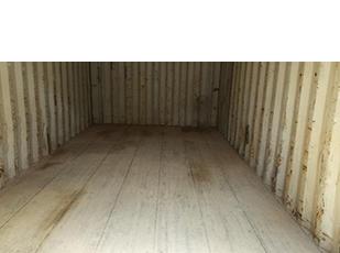 Job Site Storage Container Interior