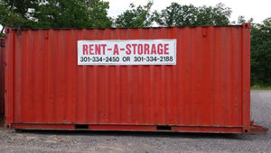 Job Site Storage Container Exterior