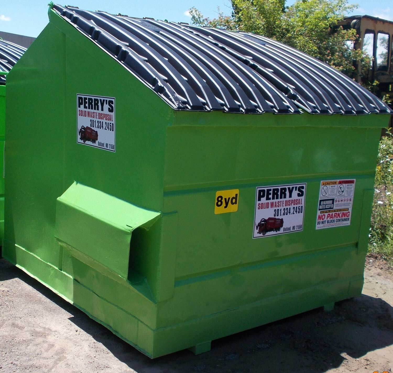 Front Load Dumpster Oakland MD